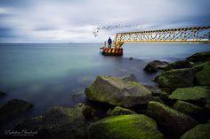 #westerplatte #sea #manofsea #rocks #gdansk #ilovegdn #bay #gdanskbay /  fot. Sebastian Chmielewski