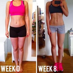 Leaner, fitter, stronger, healthier and happier @maria_atwood showing girls that it doesn't always have to be about weight loss! Sometimes all you need is a little push in the right direction and you can change your WHOLE BODY without losing a pound. Look how much difference a little muscle makes ☺️www.kaylaitsines.com/guides