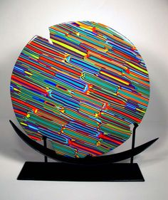 Inspiration for my glass project----  01 - Primitive - kilnformed glass sculpture sld