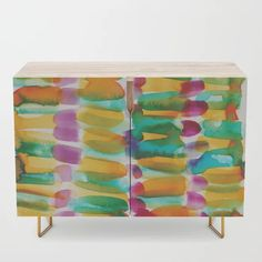 Buy 3 | 191128 | Abstract Watercolor Pattern Painting Credenza by valourine. | #watercolor #watercolour #abstractart #canvasart |backgrounds patterns watercolor |watercolor caligraphy |watercolor instructions |watercolor abstracts |mountain watercolor |diy abstract |artwork |abstract artists |abstract canvas |contradiction |abstract geometric |curators |monoprint |prins |arts| Abstract Canvas, Abstract Watercolor, Watercolour, Canvas Art, Pattern Painting, Watercolor Pattern, Caligraphy, Furniture Styles, Background Patterns