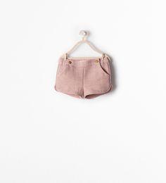 BERMUDA SHORTS from Zara Baby Girls