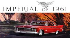 1961 Chrysler Imperial...red is a good !