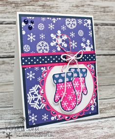 Luv 2 Scrap n' Make Cards, Kendra Sand, Handmade Christmas Card, The Stamps of Life