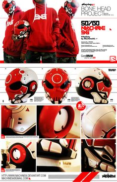 he made his design into a real helmet......looking for a place that does this in america