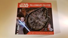 Star Wars Millennium Falcon: A Owner's Guide, estupendo libro para niños Millennium Falcon, Chewbacca, Indiana Jones, Rhode Island, Libros Star Wars, Avengers, Geek News, Geek Stuff, 3d