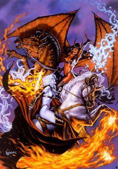 Lady Death vs. Purgatori: http://www.ebay.ca/usr/collectiblesbycandb