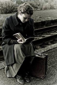 De viaje y leyendo