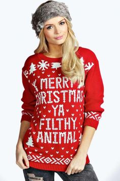 Believe It: 15 Ugly Christmas Sweaters That You'll Actually Wear Again via Brit + Co
