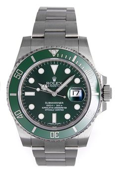 Rolex Submariner Date Steel Green Ceramic 116610LV