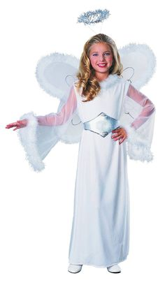 [Halloween Costumes Ideas] Feathered Fashions Child's Snow Angel Costume, Medium ** Read more at the image link. (This is an affiliate link) Angel Fancy Dress, Angel Dress, Dress Up, Play Dress, Christmas Costumes, Halloween Dress, Halloween Stuff, Halloween Makeup, Costumes
