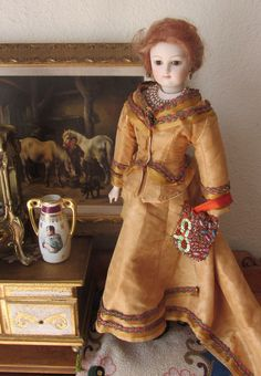 Beautiful Vintage Clara Wade ClarMaid Artist French Fashion Doll from underthelilacs on Ruby Lane