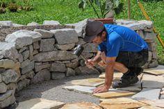 Eine Trockenmauer anlegen