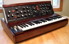 #Minimoog Model D - In production (1970-81) #synthesizer