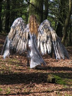 These wings are amazing!!! If only I could figure out how to make them look like owl wings!
