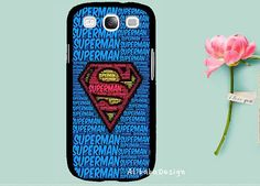 superman  Blue iron man mobile phone S3 Case by AlibabaDesign, $8.99