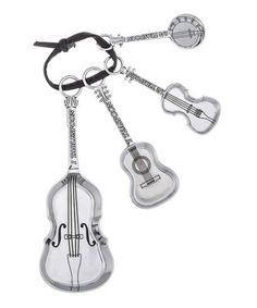 Love this String Instrument Measuring Spoon - Set of Four on #zulily! #zulilyfinds
