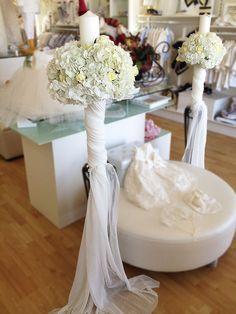 New wedding church candles flower 69 Ideas White Wedding Bouquets, Floral Wedding, Wedding Draping, Wedding Ceremony, Wedding Crowns, Wedding Church, Church Candles, Orthodox Wedding, Candles