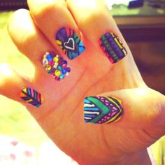 My new nails :) love them so much!