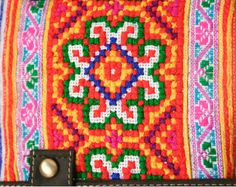 Hmong Embroidered Backpack Purse Ethnic Cross-stitched | Flickr - Photo Sharing!