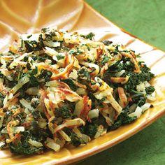 Kale & Potato Hash-Potato Recipes-Vegetable Recipes - Delish