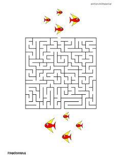 20 Λαβύρινθοι για τις παιδικές καλοκαιρινές διακοπές Crossword, Puzzle, Diagram, Kids, Crossword Puzzles, Young Children, Puzzles, Boys, Children
