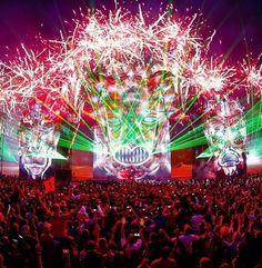 Defqon 1, still the craziest lightshow #defcon #musicfestival