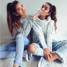 you wear high heels I wear sneakers Bff Pics, Bff Pictures, Best Friend Pictures, Friend Photos, Best Friend Outfits, Best Friend Goals, Bff Posen, Mimi Perkins, Best Friends Forever