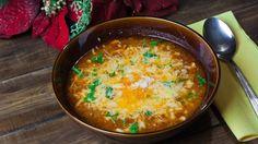 Yummy looking lasagna soup