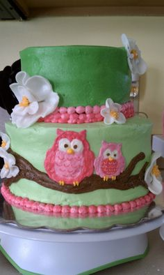 Birthday cake for a special little girl!