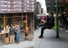 Softwalks Kickstarter project | Turn NYC sidewalk sheds into useful, pedestrian-friendly structures with seating or ledges.