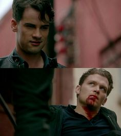 """#TheOriginals 3x18 """"The Devil Comes Here and Sighs"""" - Lucien and Klaus"""