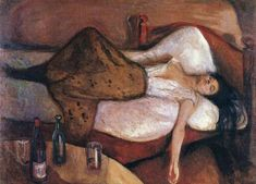 Edvard Munch, The Day After, 1894-5.                                                                                                                                                                                 Mais