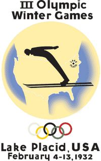new product 67190 8cc66 1932 Winter Olympic Games - Lake Placid, New York, United States First  Winter Olympics