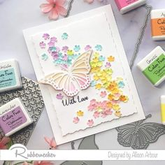 Happy Saturday, Happy Day, Butterfly Cards, Cardmaking, Create, Butterflies, Color, Instagram, Design