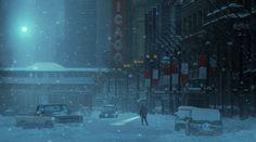 ArtStation - winternight, Rostyslav Zagornov