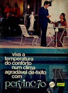 Pervinc 70, #Brasil  #anos60  #retro