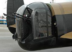 Lancaster Tail gun position.