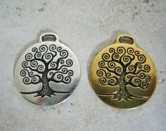 Tree of Life Celtic Charm Bangle Pendant