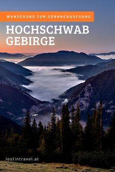 Wanderung im Hochschwab Gebirge zum Festlbeilstein, welcher sehr beliebt bei Kletterern ist und wir den Sonnenaufgang verbrachten. Die wunderschöne Wanderung im Hochschwab Gebirge, Steiermark, führt größtenteils auf einer Forststraße mit tollen Blicken in die Umgebung entlang, erst die letzten ca. 2 Kilometer geht es entlang eines sehr steilen, teils schwierigen Waldweg. Bei der Wanderung legten wir 580 Höhenmeter bei einer Strecke von 6,3 km pro Richtung zurück. Road Trips, Travel Photography, Mountains, Nature, Mountain Range, Sunrise, Popular, Environment, Woodland Forest