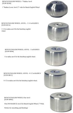 "Irvan-Smith, Inc. : Metal Ace F240 English Wheel Anvil - 24"" Radius 3X3 [EGW-F240] - $108.00"