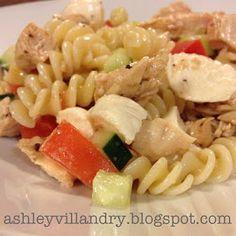 The Healthy Life: Mediterranean Pasta Salad