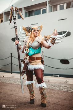 Overwatch Valkyrie Mercy Cosplay