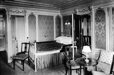 It took 10 months to decorate Titanic. The style of the decor included Louis XIV, Empire Italian Renaissance, Georgian, Regence, Queen Ann, and Old Dutch. #Titanic