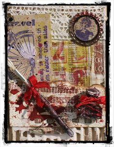 The Artistic Stamper Creative Team Blog: Card by Titbelsoeur