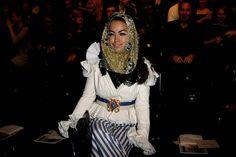 Aura Dione - MBFW A/W 2010: Schumacher Fashion Show
