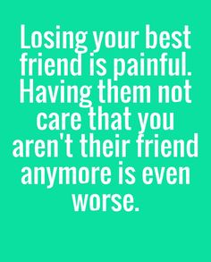 12 Best Losing Best Friend Quotes Images Friendship Messages Sad