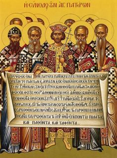 The Nicene Creed at the First Council of Nicaea - Anti-Christian policies in the Roman Empire. Nicaea: the first ecumenical council in 325 ASD., which produced the wording of the Nicene Creed and condemned the heresy of Arianism. Early Christian, Christian Church, Christian Art, Council Of Nicea, Jesus Ressuscité, Roman Empire