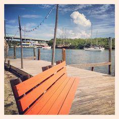 Dock Bench (Key Largo, Florida)