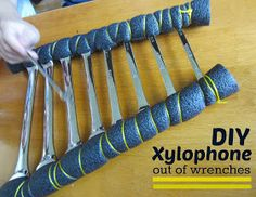 Relentlessly Fun, Deceptively Educational: DIY Xylophone out of Wrenches