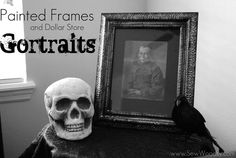 Painted Frames & Dollar Store Gortraits